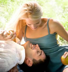 Liebe und Gesundheit bei Mann und Frau